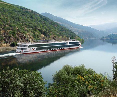 A-ROSA ALVA wird das neue Familienmitglied der A-ROSA Flotte heißen und künftig auf dem Douro in Portugal unterwegs sein.
