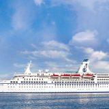 Am 1. Juli 2019 liegen die MS Astor und das neueste Mitglied der TransOcean-Flotte, MS Vasco da Gama, zeitgleich in Bremerhaven.