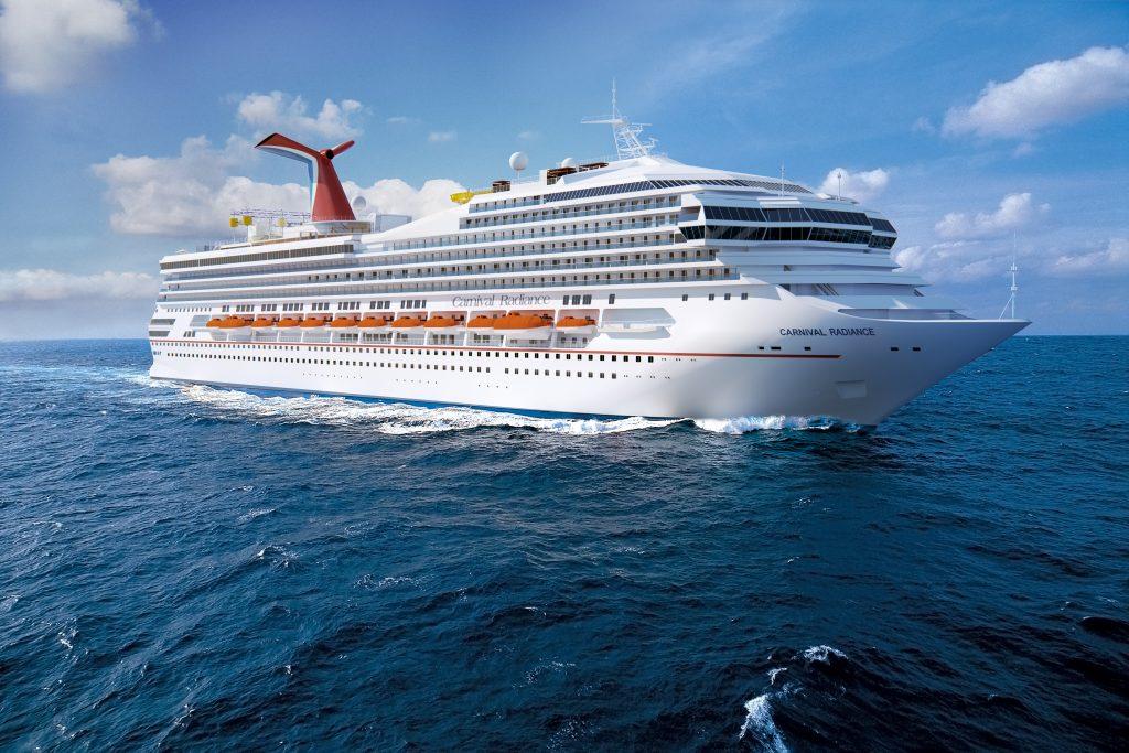 Die umbenannte Carnival Radiance wird im Frühjahr 2020 nach ihrer 200 Mio. US-Dollar Totalrenovierung auf Einführungsfahrten im Mittelmeer unterwegs sein