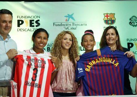"""In Kolumbien beteiligt sich die italienische Reederei Costa Crociere am Hilfsprojekt """"Pies Descalzos Foundation"""" der Sängerin Shakira"""