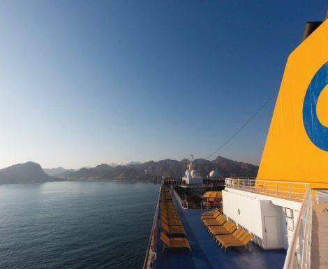 Die Costa Victoria wird Hotelschiff für die nächste Universiade 2019 in Neapel und damit Teil des Sportlerdorfs für das Großereignis
