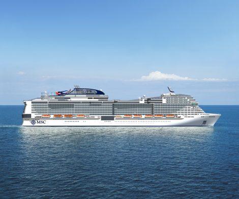 Die MSC Bellissima hat die französische Werft Chantiers de l'Atlantique verlassen, um die erste Probefahrt zu absolvieren.