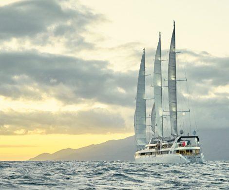 Die Werft Chantiers de l'Atlantique und Ponant haben sich zusammengetan, um den neuen innovativen Antrieb Solid Sail®-System zu testen.
