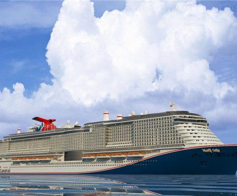 Die neue Mardi Gras von Carnival Cruise Line wird mit rund 5.200 Passagieren das bislang größte Kreuzfahrtschiff des Marktführers, mit sechs Themen-Zonen