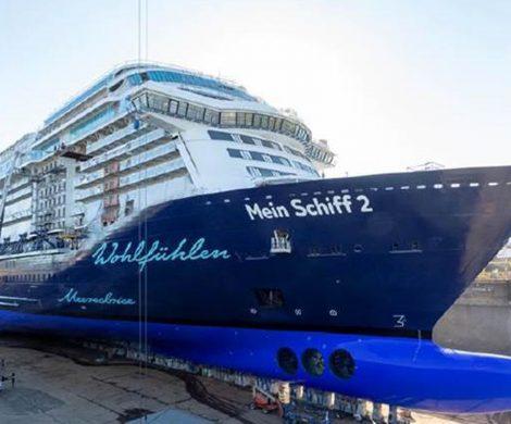 Die neue Mein Schiff 2 wird von TUI Cruises früher übernommen als geplant:erstmals nicht im finnischen Turku, Standort der Schiffswerft, sondern in Kiel.