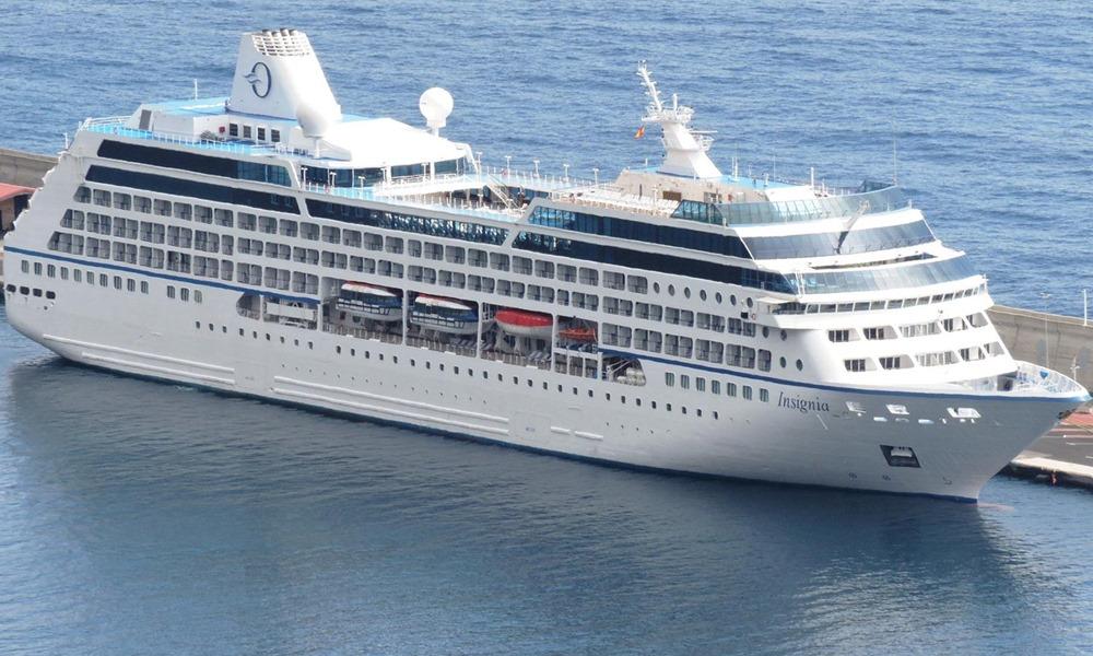 Die 180-tägige Weltreise der Insignia ab Miami ist mit mehr als 39.000 Seemeilen mit 100 Anlaufhäfen in 44 Ländern die längste der Kreuzfahrt