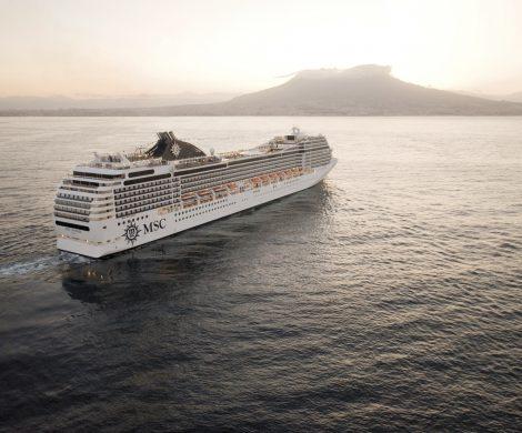 Zwei MSC-Schiffe, die MSC Orchestra und die MSC Poesia, sind während eines Manövers im Hafen von Buenos Aires zusammengestoßen.