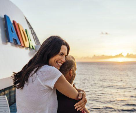 Zum Valentinstag dürfen sich nicht nur Romantiker über attraktive Kreuzfahrtangebote mit Buchung bis zum 15. Februar mit AIDAs Pink Valentine freuen.