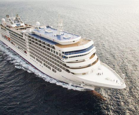Die Silver Moon, zweites von drei neuen, luxuriösen Kreuzfahrtschiffen, die Fincantieri für Silversea Cruises baut, wurde am Standort Ancona auf Kiel gelegt.