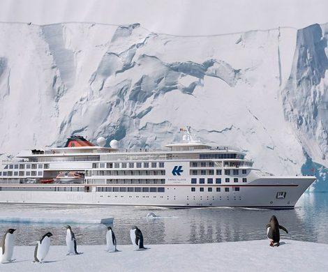 Nach der Fridtjof Nansen und der World Explorer muss jetzt auch die HANSEATIC nature von Hapag-Lloyd Cruisesihre ersten Reisen absagen.