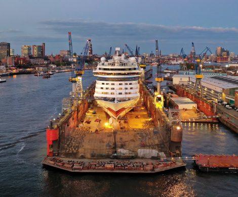 Die AIDAluna hat nach ihren Werftaufenthalt bei Blohm+Voss erfolgreich zahlreiche optische Neuerungen als auch diverse technische Updates