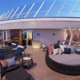 Das neue Carnival-Flaggschiff Mardi Gras für insgesamt 5.200 Gäste bekommt eine große Kabinen- und Suitenauswahl, davon allein 180 Suiten in elf Kategorien