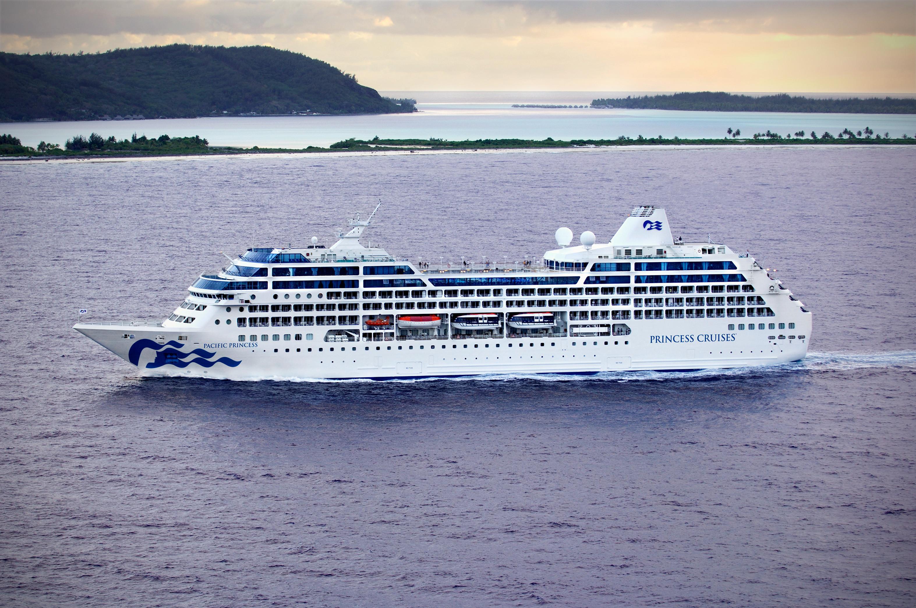 Erstmals nach fünf Jahren wird Princess Cruises im Herbst 2020 Polynesien ansteuern, im Oktober und November elftägige Kreuzfahrten ab/bis Papeete (Tahiti)