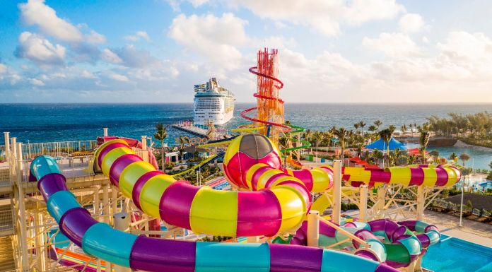 Die Kreuzfahrtgesellschaft Royal Caribbean International (RCI) hat die Privatinsel Perfect Day at Coco Cay auf den Bahamas eröffnet.