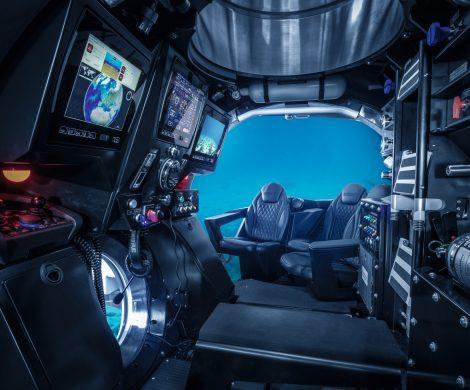 ScenicLuxuryCruises hat erstmals Details zumScenicNeptune U-Boot bekanntgegeben, eine der Attraktionen auf der neuen Discovery-YachtScenicEclipse