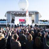 Der Rockliner ist wieder unterwegs: Rund 2.800 Rocker haben in Kiel die Mein Schiff 1 geentert. Mitten unter ihnen: Panikrocker Udo Lindenberg und sein Panikorchester.