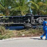 Beim Unfall eines Ausflugsbusses mit Passagieren der Carnival Ecstasy auf den Bahamas sind 32 von 34 Insassen verletzt worden. Der