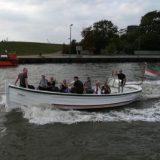 neue Attraktion in Bremerhaven: Das neue Wassertaxi verkehrt an den Wochenenden im Stundentakt zwischen dem Neuen Hafen und dem Schaufenster Fischereihafen.