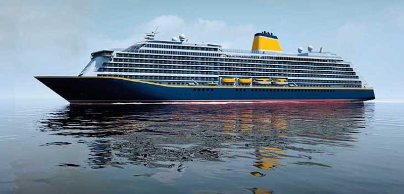 Die Spirit of Discovery, das erste von zwei neuen Kreuzfahrtschiffen für die britische Reederei Saga Cruises, ist von der Meyer Werft abgeliefert worden
