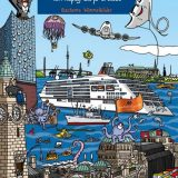 Die Europa 2 von Hapag-Lloyd bekommt ein eigenes Wimmelbilderbuch: Illustrator Andreas Welter erweckt darin das Schiff aus Kinderperspektive zum Leben.