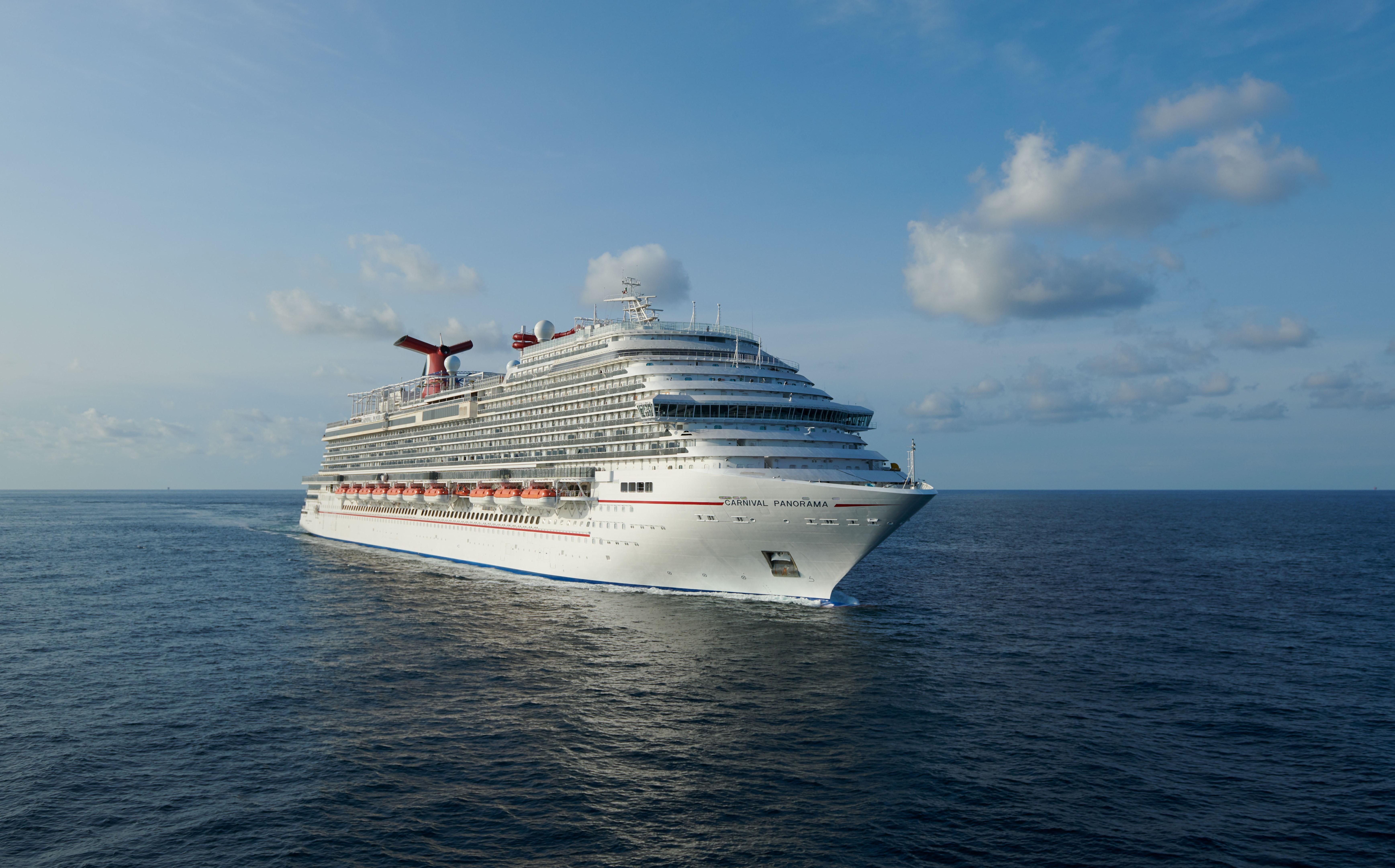 Mit der 3.960 Passagieren Platz bietenden Carnival Panorama hat das neueste Mitglied der Carnival-Flotte seine Hochsee-Testfahrten erfolgreich absolviert.