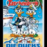 Rezension Lustiges Taschenbuch Nr. 523 - Die Ducks auf Kreuzfahrt. Die Enten aus Entenhausen erleben auf Kreuzfahrt mehrere Geschichten, hochaktuell