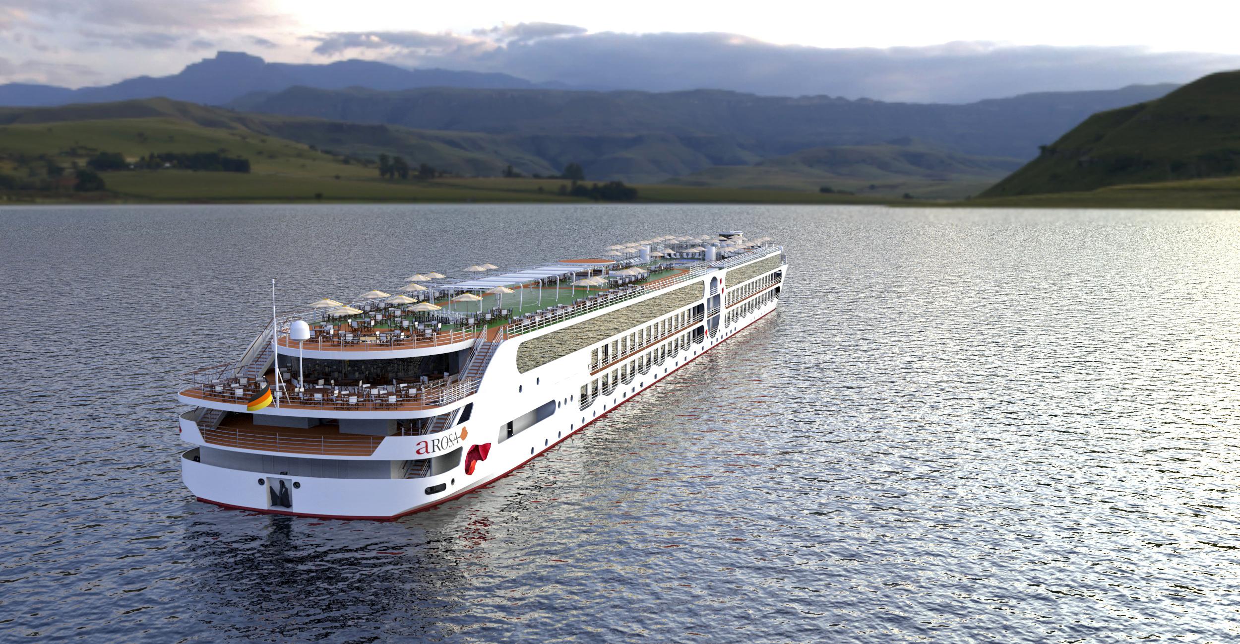 Statt der bisher üblichen Breite von 11,4 Meter weist das für das Fahrtgebiet nördlicher Rhein vorgesehene Batterieschiff 17,7 Meter auf.