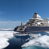 Die SeaDream Innovation – neue ultraluxuriöse Mega-Yacht von SeaDream Yacht Club, wird 2021 in See stechen und zunächst nach Norwegen und Spitzbergen fahren