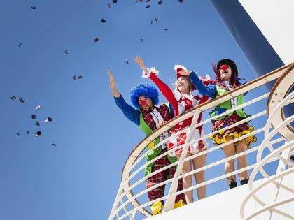Ausgelassen feiern und der rheinischen Lebensart frönen – all das vereint der Jeckliner Mein Schiff 4, der vom 20. bis 24. April 2020 in See sticht.