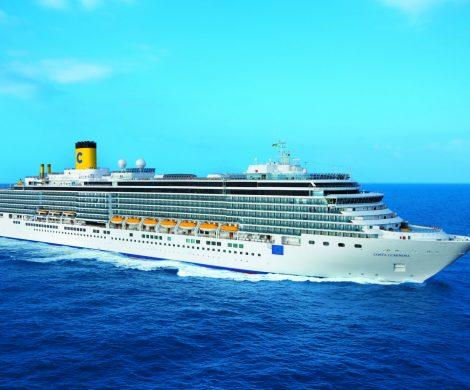 Costa wird die Costa Luminosa im Winter 2020/2021 in Südamerika einsetzen, damit werden drei Schiffe von November bis April in Südamerika sein