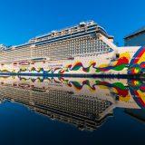 Die Norwegian Encore, wird voraussichtlich am Montag, den 30. September 2019 Papenburg verlassen und auf der Ems nach Eemshaven (Niederlande) überführt.