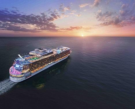Royal Caribbean International wird das fünften Schiffes der Oasis-Klasse Wonder of the Seas nennen, Heimathafen wird Shanghai