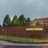 Der Hochbau des neuen Kreuzfahrtterminals Warnemünde am Liegeplatz P8 im Werftbecken hat begonnen. Die Gesamtinvestitionen betragen 15,1 Millionen Euro.