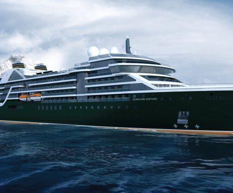 Die Jungfernfahrt der Seabourn Venture beginnt am 5. Juni 2021 in Lissabon und ist eine zehntägige Reise zu den Highlights of the British Channel.