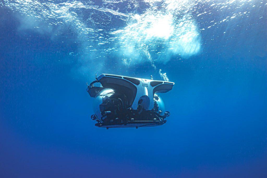 Auf der Scenic Eclipse ist das U-Boot Scenic Neptune für faszinierende Unterwasser-Entdeckungen dabei und bis zu einer Tiefe von 300 Metern einsetzbar.