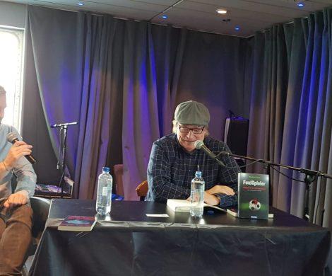 Reportage zum ersten Krimifestival auf See mit Simone Buchholz, Stephan Ludwig, Sybille Baecker auf der MS Norröna von Smyril Line, von Manfred Ertel