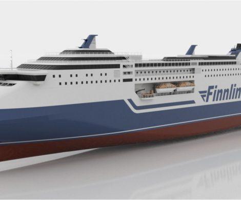 Finnlines hat zwei Superstar-Ro-Pax-Schiffe bestellt, die bis 2023 ausgeliefert werden, höchste Eisklasse und modernste, umweltfreundliche Technik haben