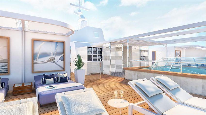 Die Mein Schiff 4 von TUI Cruises wird am 3. Februar 2020 für umfangreiche Umbaumaßnahmen ins Trockendock nach Marseille geschickt.