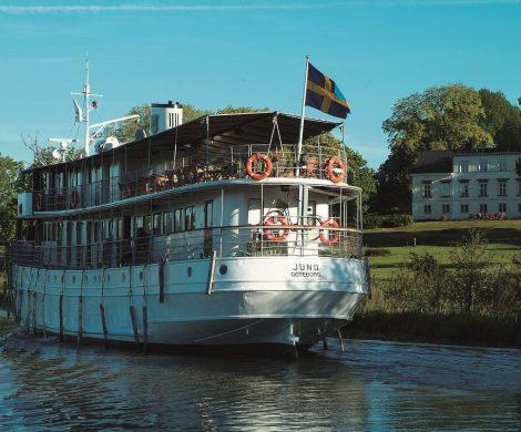 Beschwingt über den Göta-Kanal: Jazzreise mit der MS Juno, ältestes KF-Schiff der Welt, von Aviation & Tourism International vom 23. bis 28. August 2020