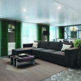 Die Luxus-Reederei Regent Seven Seas Cruises hat die Seven Seas Splendor für bis zu 750 Gäste und Suiten von 29 bis zu 413m² in Dienst gestellt