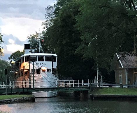 Reportage einer Flusskreuzfahrt auf dem Götakanal mit der MS Diana, einem historischen Schiff Baujahr 1931 mit AVIATION & TOURISM INTERNATIONAL (ATI)