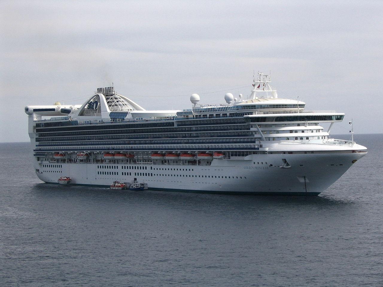Nachdem der Verdacht auf mit dem Corona-Virus Infizierte an Bord besteht, dürfen Tausende Passagiere und Crewmitglieder die Golden Princess nicht verlassen. Die Golden Princess liegt derzeit mit 2.600 Passagieren und 1.100 Besatzungsmitgliedern an Bord vor Neuseeland.