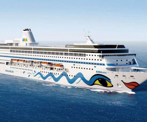 Auf dem Kreuzfahrtschiff Aidamira sitzen rund 1.300 Urlauber aus Deutschland und Österreich im Hafen von Kapstadt fest.