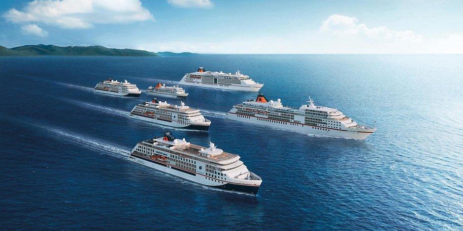 Ein sehr seltenes Ereignis steht im Hafen von Hamburg an: Gleich drei Schiffe von Hapag-Lloyd Cruises laufen an einem Tag in die Hansestadt ein