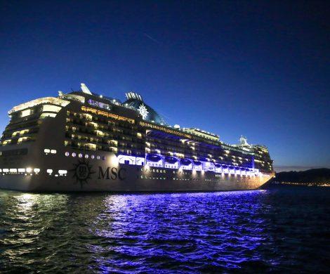 MSC Cruises dankt den Coronahelden: Angehörige des Gesundheitswesens bekommen mit bis zu 50 Prozent vergünstigte Preise auf Kreuzfahrten mit der italienischen Reederei