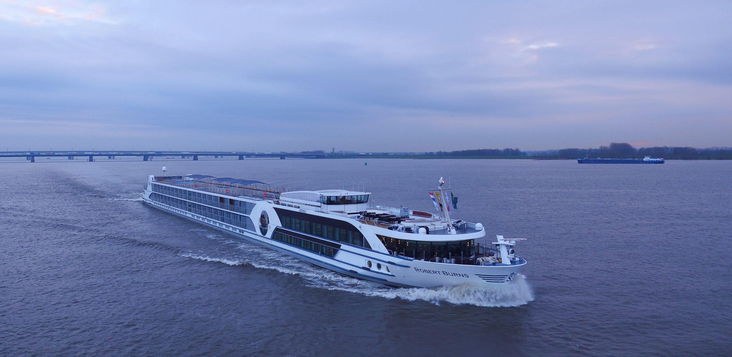 VIVA Cruises hat Kurzreisen ab/bis Frankfurt ins Programm aufgenommen, eine Vier-Nächte-Kreuzfahrt auf dem Rhein an Bord der MS ROBERT BURNS