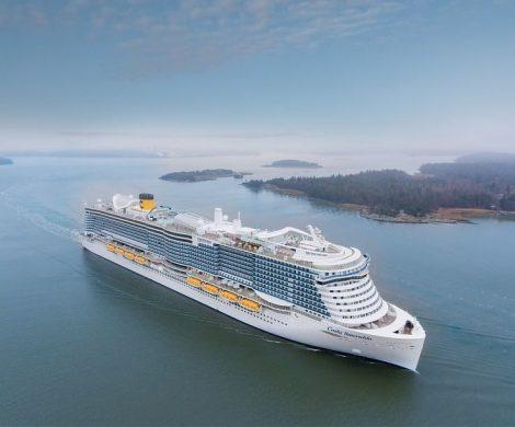 Nach der Costa Deliziosa und der Costa Diadema kehrt ab dem 10. Oktober nun auch die Costa Smeralda zur Kreuzfahrt zurück.