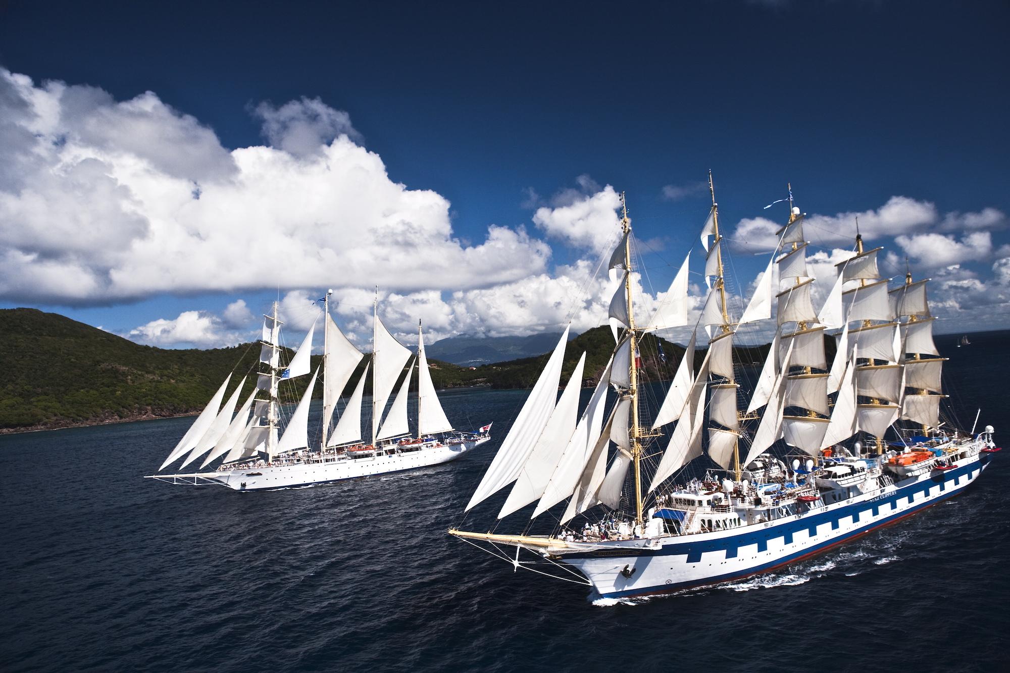 Star Clippers verstärkt ab Sommer 2022 die Segel-Kreuzfahrten im westlichen Mittelmeer und vor den Kykladen durch die griechische Inselwelt.