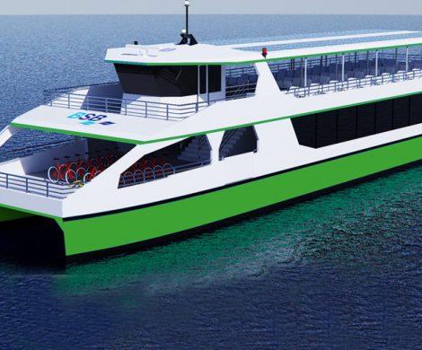 Die Bodensee-Schifffahrtsbetriebe setzt auf Schiffe, die mit Strom betrieben werden: ab 2022 sollen E-Schiffe den Fährbetrieb aufnehmen.