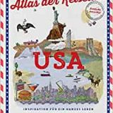 """Rezension / Buchbesprechung """"Atlas der Reiselust USA"""", Dumont Reiseverlag .Für USA-Liebhaber oder -Interessenten eine absolute Kaufempfehlung."""